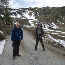 157 Wouter en Michiel onderweg